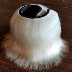 Faux Fur Drink Cooler (brand new)